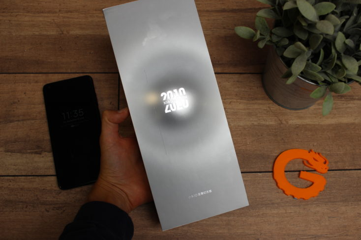 Xiaomi Mi 10 Ultra packaging