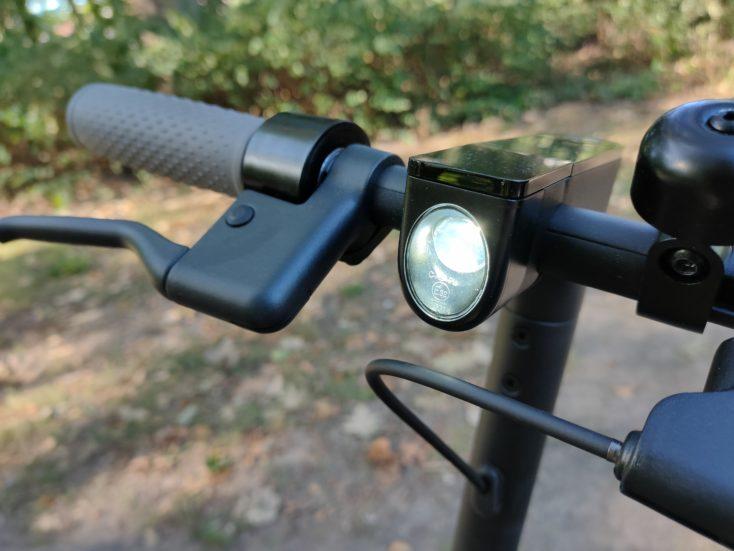 Xiaomi Mi E-Scooter 1S Licht
