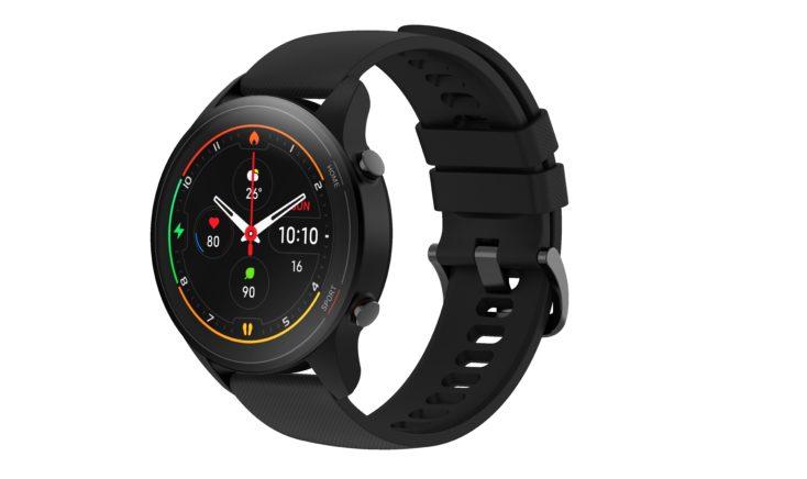Xiaomi Mi Watch Smartwatch Design Schwarz