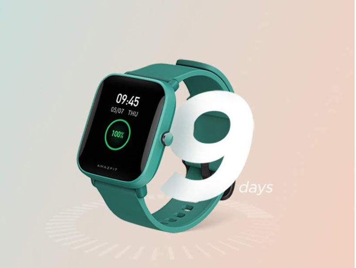 Amazfit Bip U Smartwatch Akkulaufzeit