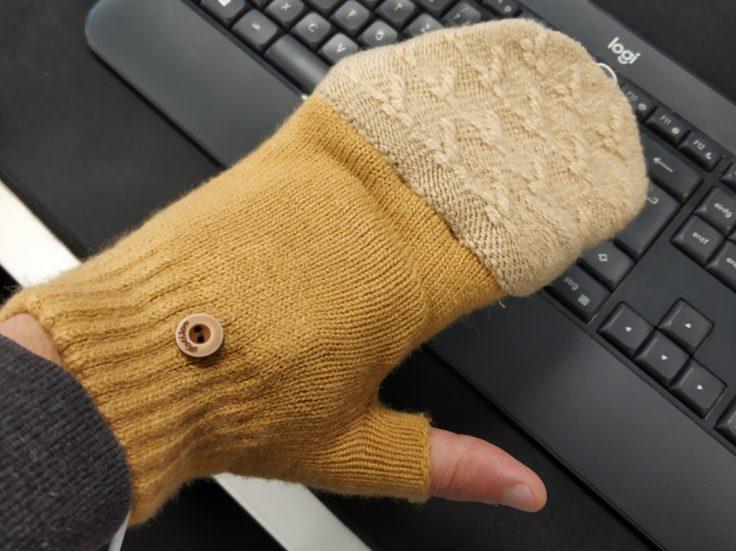 Beheizbare USB Handschuhe Stoff