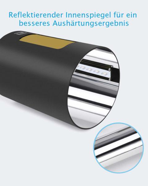 ELEGOO Mercury UV Aushaertemaschine innen