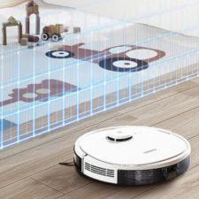 Ecovacs Deebot N3 Max Saugroboter virtuelle Waende