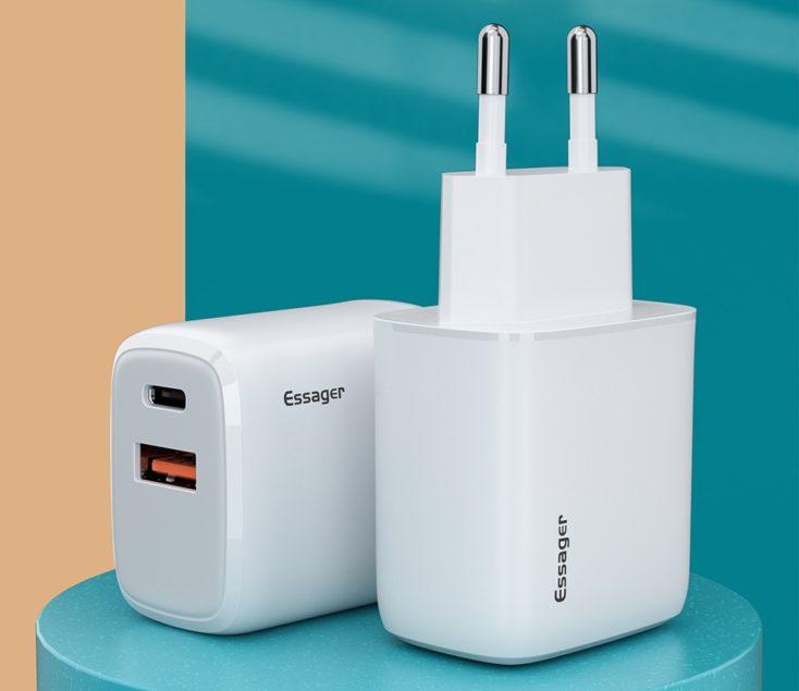 Essager 20W USB-C Netzteil Design