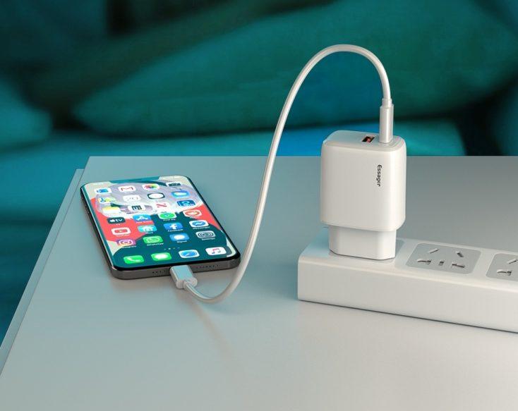 Essager 20W USB -C Netzteil Laden