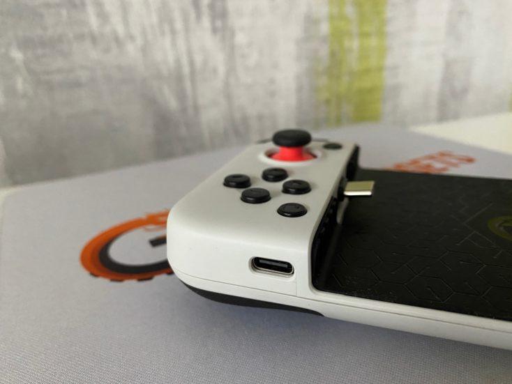 GameSir X2 USB C Ladeanschluss