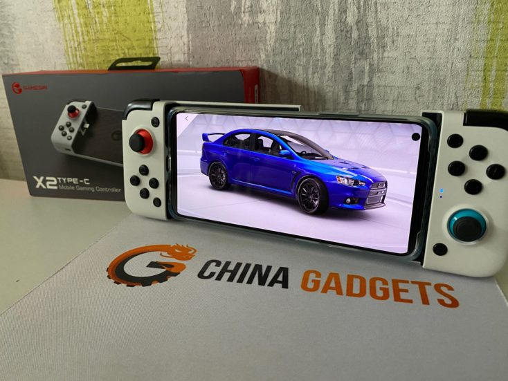 GameSir X2 mit Verpackung