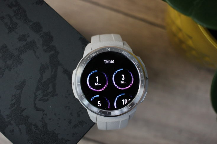 Honor Watch GS Pro Timer