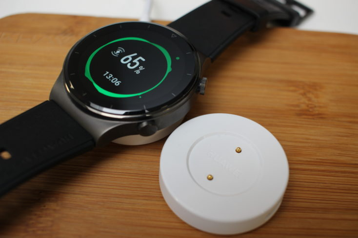 Huawei Watch GT 2 Pro Laden vs alte Ladeschale