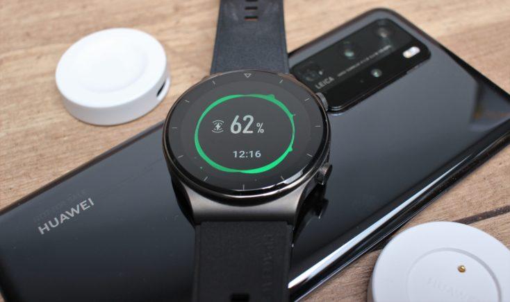 Huawei Watch GT 2 Pro Reverse Wireless Charging