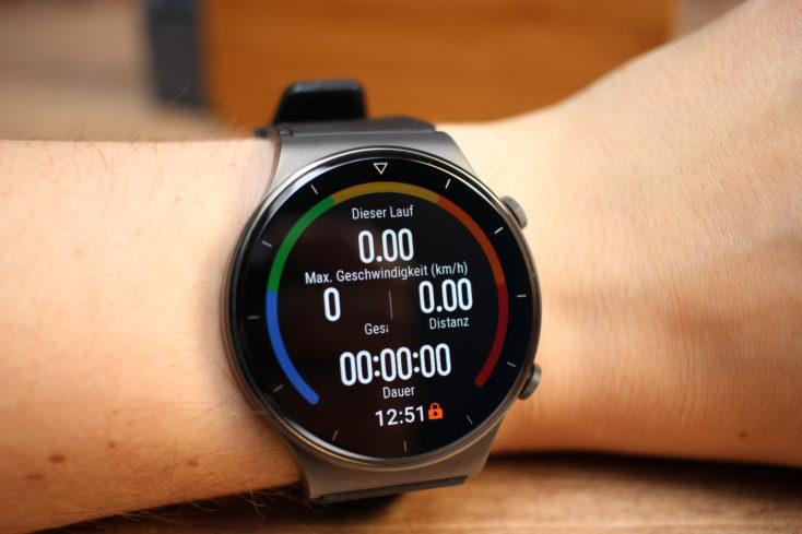 Huawei Watch GT 2 Pro Skifahren