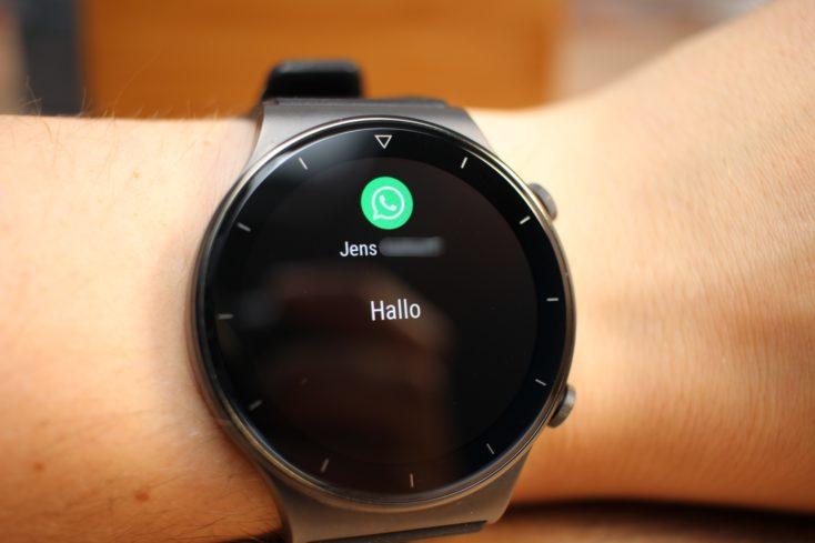 Huawei Watch GT 2 Pro WhatsApp Benachrichtigung