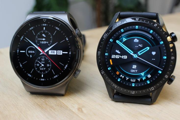 Huawei Watch GT 2 Pro vs GT 2 Features