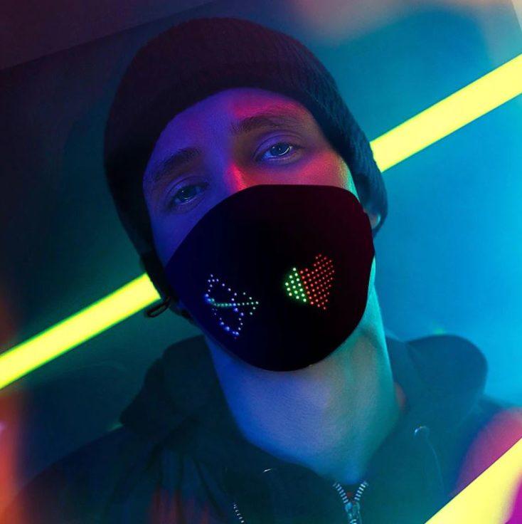 LED Masken getragen Party