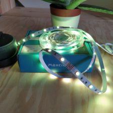 Maxcio LED Strip eingeschaltet