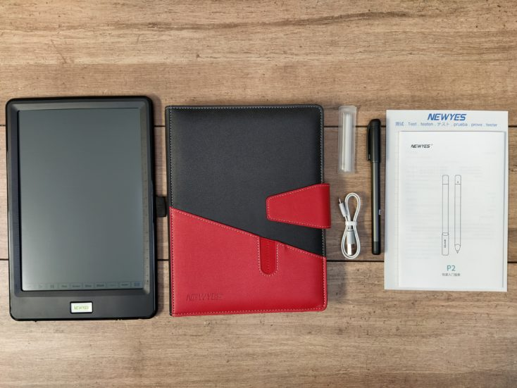 NeWYes SyncPen Writing Tablet Lieferumfang