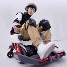 Ninebot Mecha Kit M1 mit Fahrer