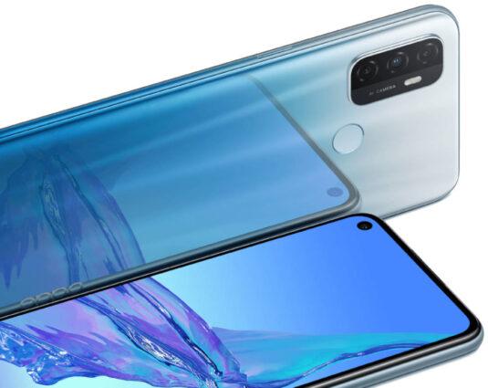 OPPO A53S Smartphone Design