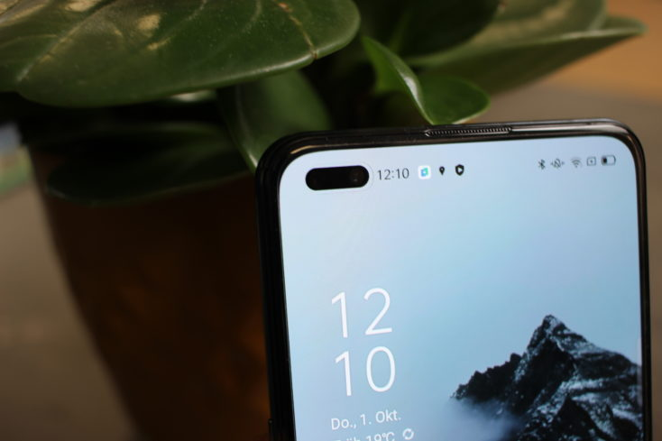 OPPO Reno4 5G Smartphone Punch Hole
