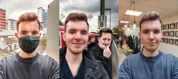 OnePlus 8T Selfies