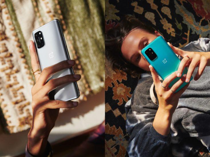 OnePlus 8T Silber Gruen Farben