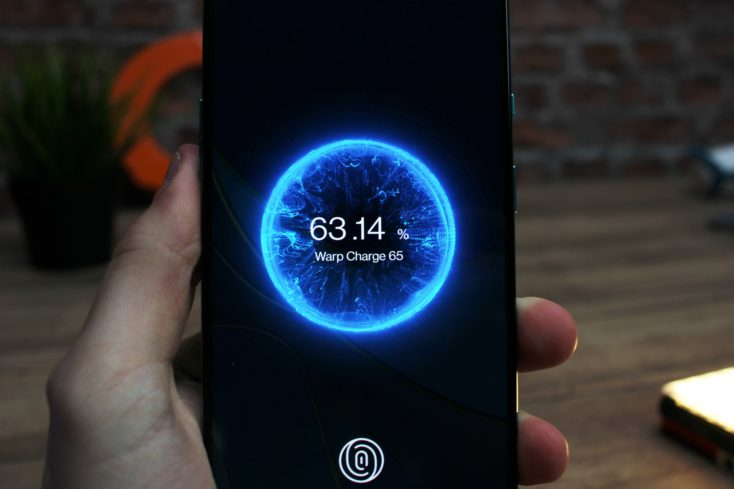 OnePlus 8T Warp Charge 65