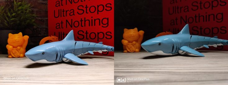OnePlus 8T vs 7T Nachtmodus