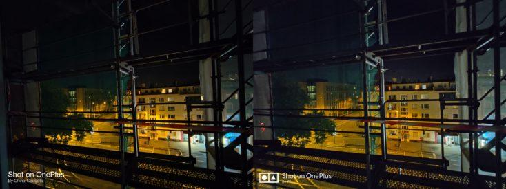 OnePlus 8T vs 7T Nachtmodus Ultraweit