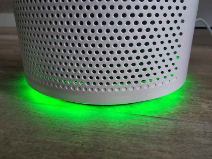 Proscenic A8 Luftreiniger Filter Leuchten LED