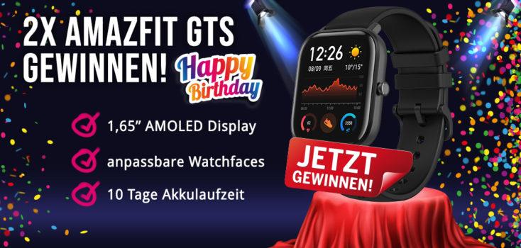 Tag 2 Amazfit GTS Gewinnspiel Post