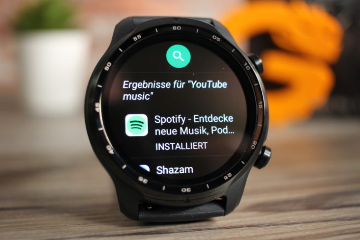 TicWatch 3 Pro YouTube Music