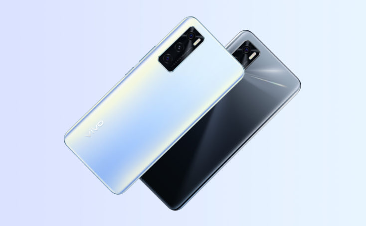 Vivo Y70 Smartphone Rueckseite Farben