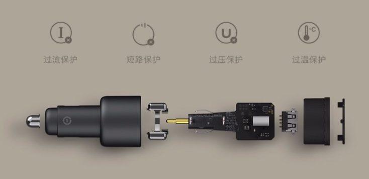 Xiaomi 100W Ladegeraet Schutz Auto