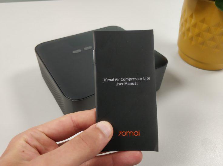 Xiaomi 70Mai elektrische Luftpumpe Kompressor Bedienungsanleitung