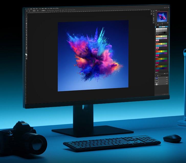 Xiaomi Fast LCD Gaming Monitor Bildbearbeitung