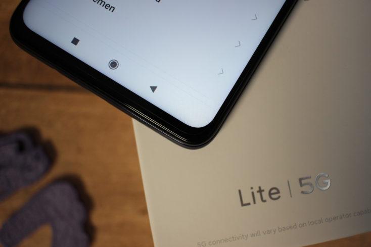 Xiaomi Mi 10T Lite Bildschirmrand