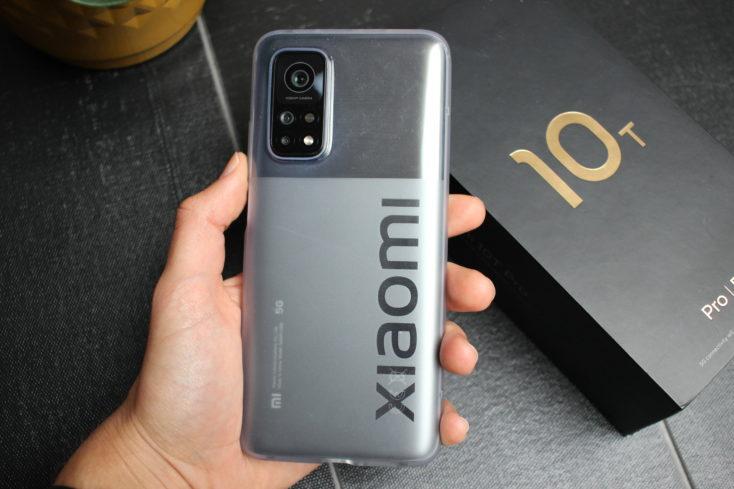 Xiaomi Mi 10T Pro Smartphone Case Rueckseite