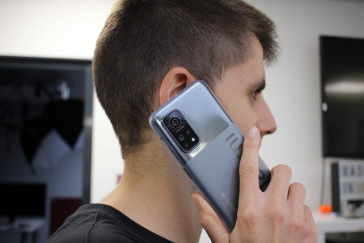 Xiaomi Mi 10T Pro Smartphone Handhabung