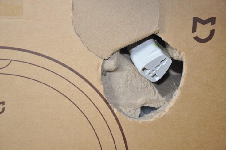 Xiaomi Mijia G1 Saugroboter Verpackung beschädigt