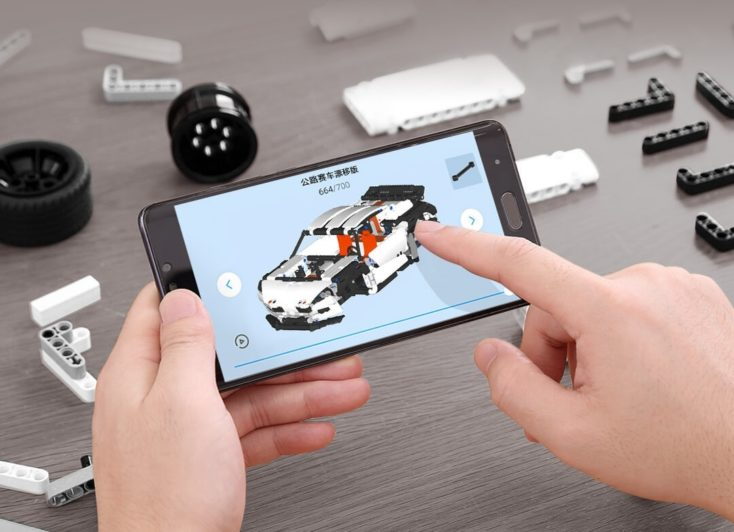 Xiaomi ONEBOT Klemmbausteine RC Auto 1