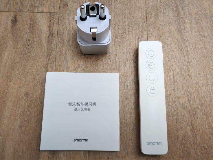 Xiaomi Smartmi elektrischer Lufterhitzer Heizung Lieferumfang