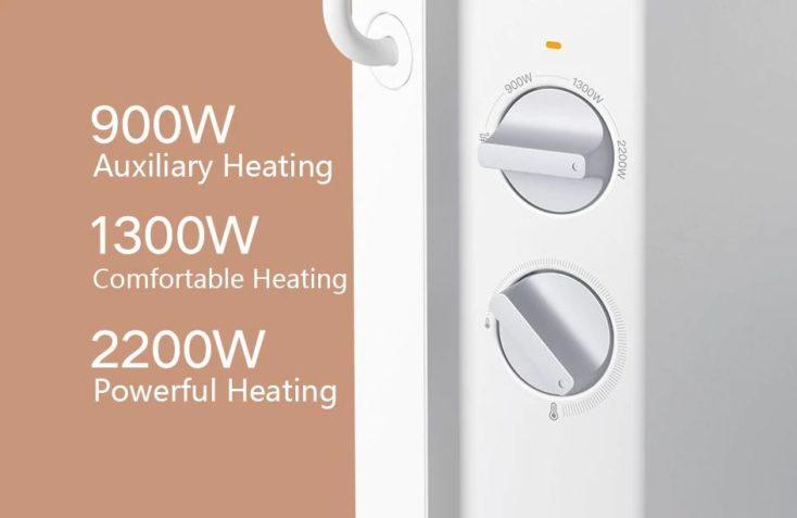 Elektrische Heizung Xiaomi Temperaturregler