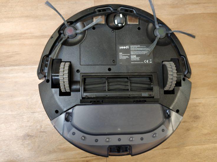 Yeedi K650 Saugroboter Unterseite