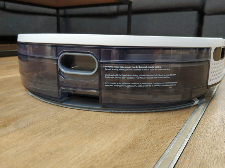 Yeedi K650 Saugroboter Wischfunktion Wassertank