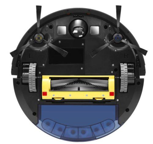 ZACO A10 Saugroboter Unterseite