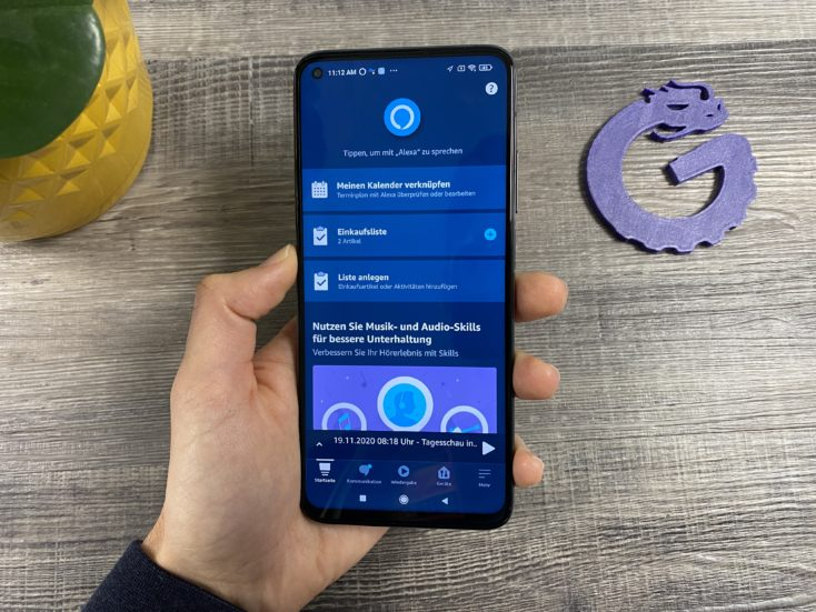 Amazon Alexa Hands Free Xiaomi Smartphone