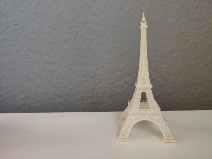 Anycubic Photon Mono X Eiffelturm fertig