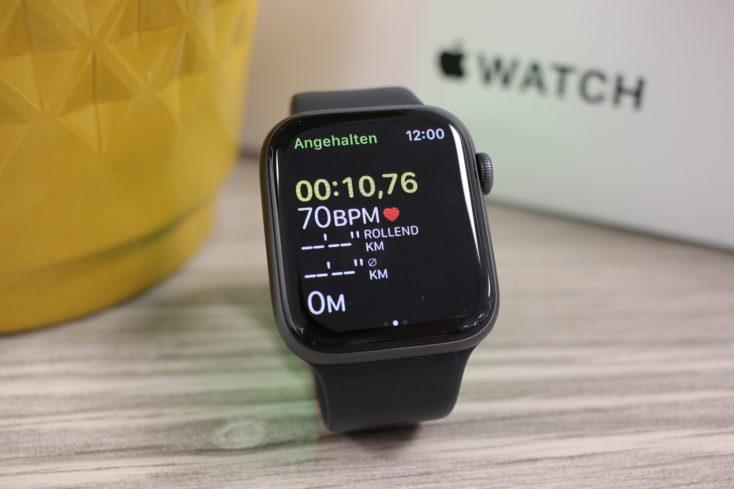 Apple Watch SE Aktivitaeten App