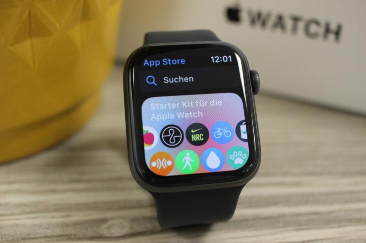 Apple Watch SE App Store