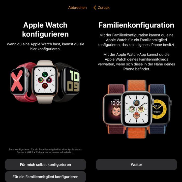 Apple Watch SE Einrichtung